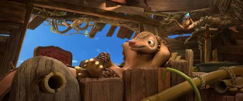 кадр №225843 из фильма Робинзон Крузо: Очень обитаемый остров