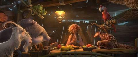 кадр №225844 из фильма Робинзон Крузо: Очень обитаемый остров