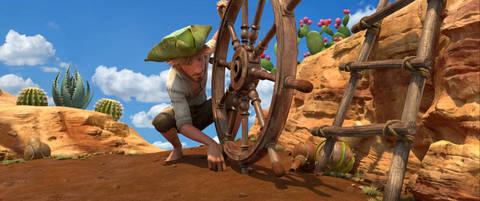 кадр №225848 из фильма Робинзон Крузо: Очень обитаемый остров