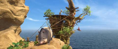 кадр №225851 из фильма Робинзон Крузо: Очень обитаемый остров