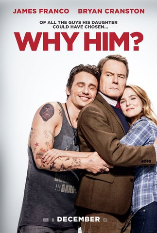 плакат фильма постер Почему он?