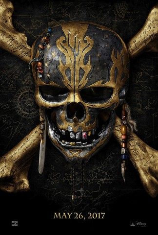 плакат фильма постер Пираты Карибского моря: Мертвецы не рассказывают сказки