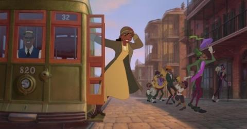 кадр №23263 из фильма Принцесса и лягушка