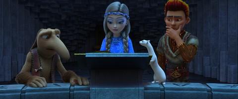 кадр №234427 из фильма Снежная королева 3: Огонь и Лёд
