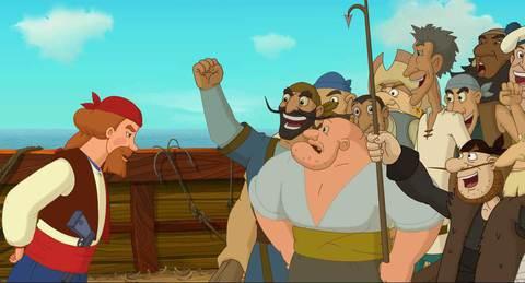 кадр №234442 из фильма Три богатыря и Морской царь