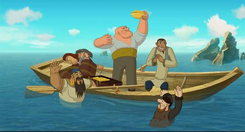 кадр №234443 из фильма Три богатыря и Морской царь