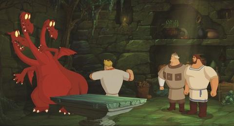 кадр №234448 из фильма Три богатыря и Морской царь