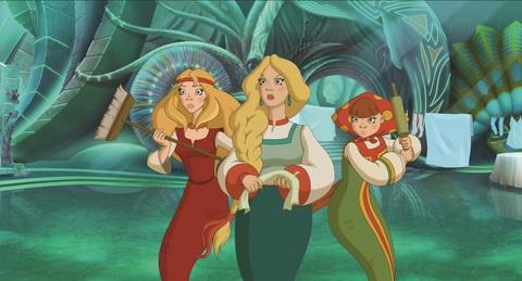 кадр №234449 из фильма Три богатыря и Морской царь