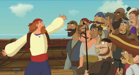 кадр №234454 из фильма Три богатыря и Морской царь