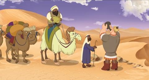 кадр №234455 из фильма Три богатыря и Морской царь