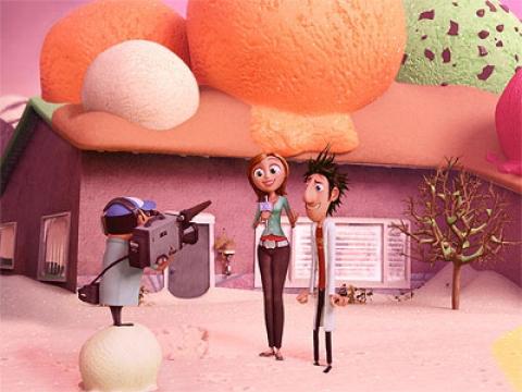 кадр №23515 из фильма Облачно, возможны осадки в виде фрикаделек