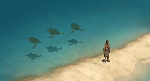 кадр №236321 из фильма Красная черепаха