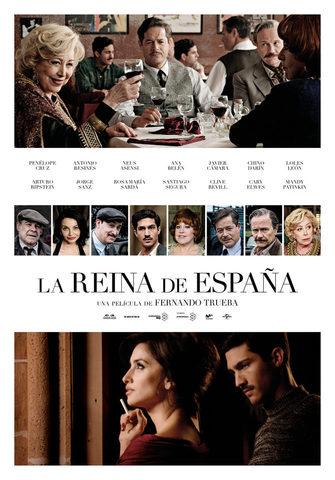 плакат фильма постер Королева Испании