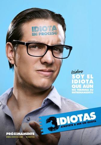 плакат фильма постер характер-постер 3 идиота*