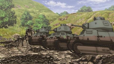 кадр №244682 из фильма Девушки и танки
