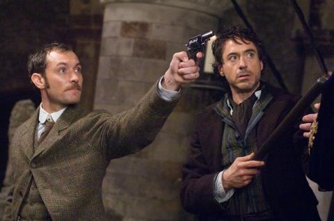 кадры из фильма Шерлок Холмс Роберт Дауни-мл., Джуд Лоу,
