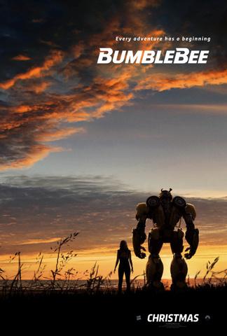 плакат фильма постер Бамблби