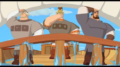 кадры из фильма Три богатыря и наследница престола