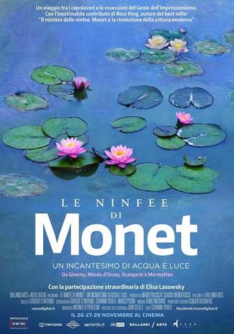 плакат фильма постер Клод Моне: Магия воды и света
