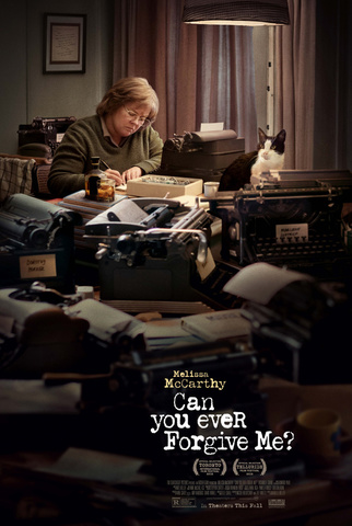 плакат фильма постер Сможете ли вы простить меня?