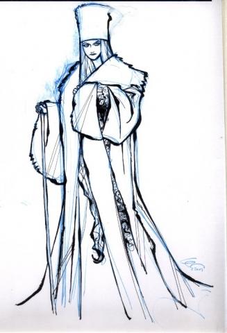 концепт-арты Холодное сердце