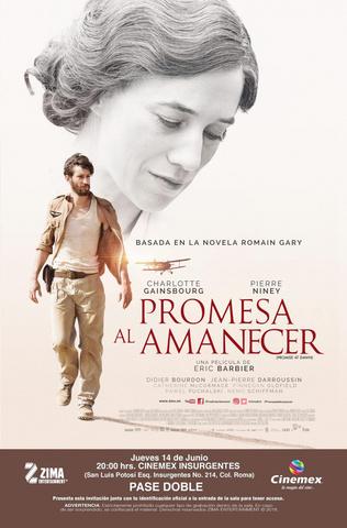 плакат фильма постер Обещание на рассвете