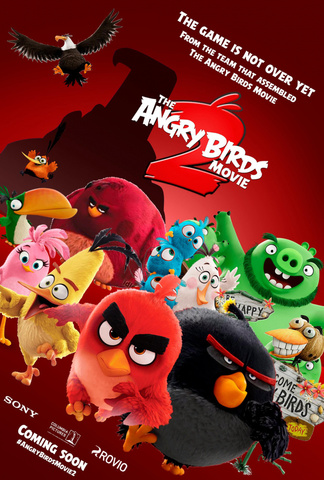 плакат фильма постер Angry Birds в кино 2