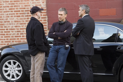 со съемок Майкл Клейтон Стивен Содерберг, Тони Гилрой, Джордж Клуни,