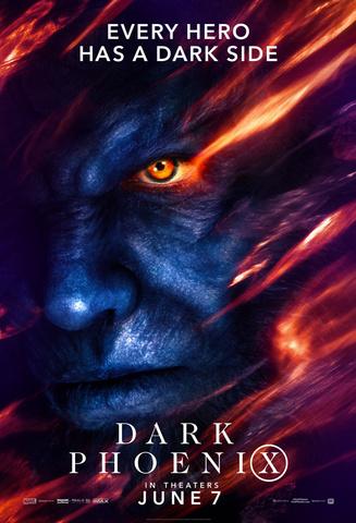 плакат фильма постер Люди Икс: Темный феникс