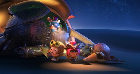 кадр №255629 из фильма Космическое приключение