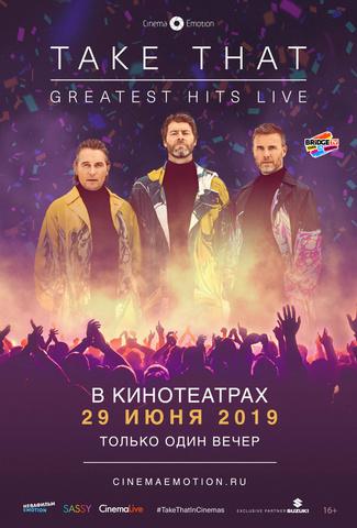 плакат фильма постер Take That: Greatest Hits Live