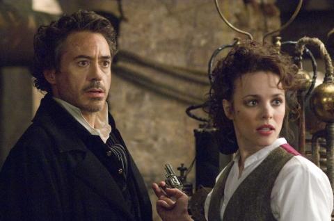 кадры из фильма Шерлок Холмс Рэйчел МакАдамс, Роберт Дауни-мл.,