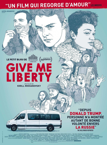 плакат фильма постер Гив ми либерти