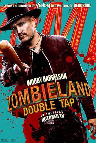 плакат фильма постер Zомбилэнд: Контрольный выстрел