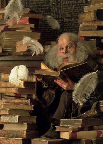 кадры из фильма Гарри Поттер и Философский камень Уорвик Дэвис,