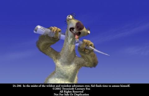 кадры из фильма Ледниковый период
