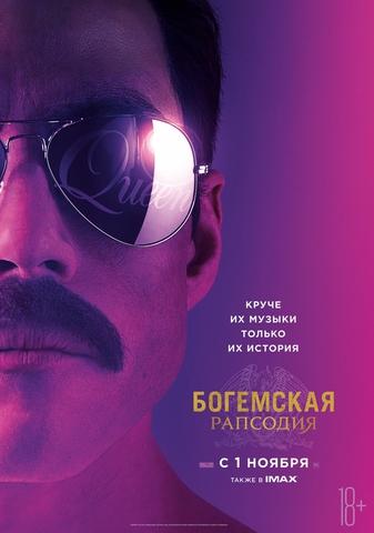 плакат фильма постер Богемская рапсодия