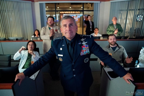 кадры из фильма Космические войска