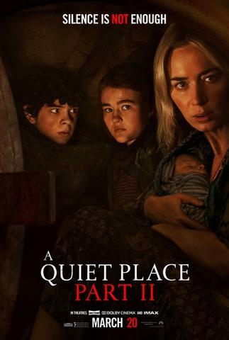 плакат фильма постер Тихое место 2