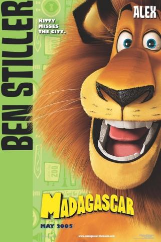 плакат фильма Мадагаскар