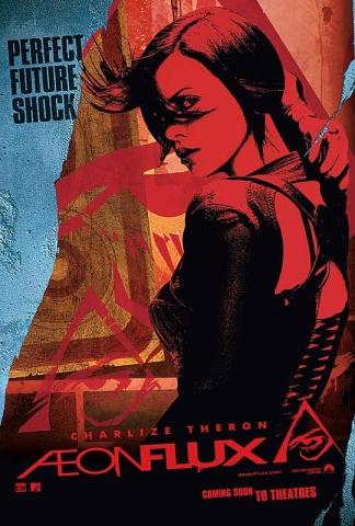 плакат фильма тизер Эон Флакс