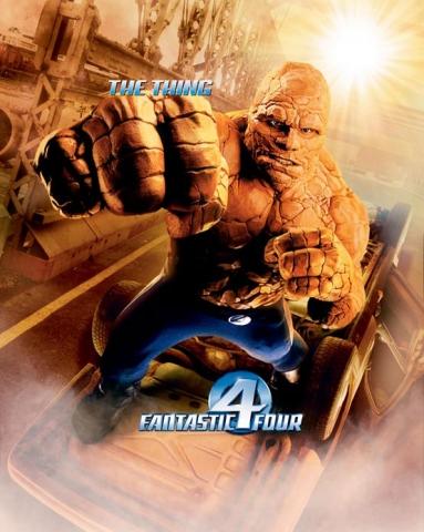плакат фильма Фантастическая четверка