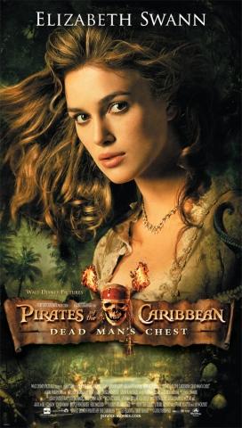 плакат фильма Пираты Карибского моря: Сундук мертвеца