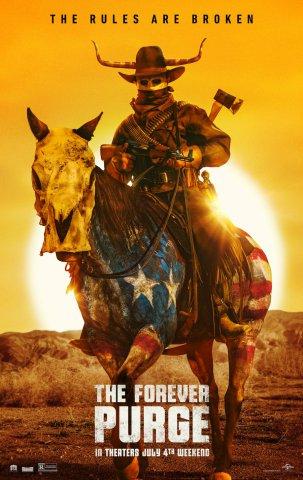 плакат фильма Судная ночь навсегда