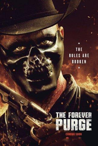 плакат фильма характер-постер Судная ночь навсегда