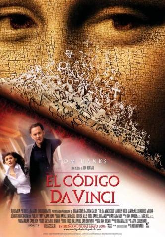 плакат фильма Код Да Винчи