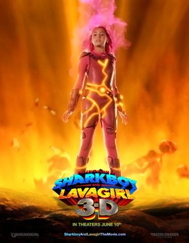 плакат фильма Приключения Шаркбоя и Лавы