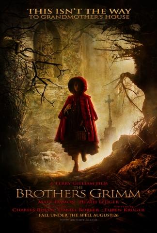 плакат фильма Братья Гримм