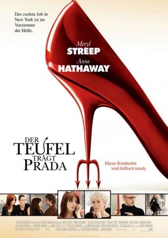плакат фильма Дьявол носит Prada