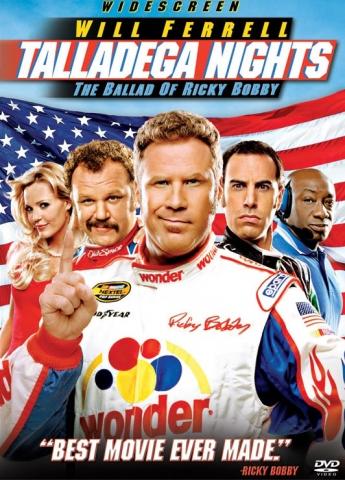 плакат фильма Рики Бобби: Король дороги